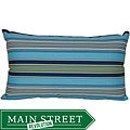 Highway Outdoor Turquoise Decorative Pillow