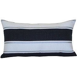 Silver Ray Decorative Pillow
