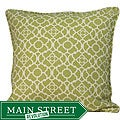 Outdoor Green Moroccan Decorative Pillow