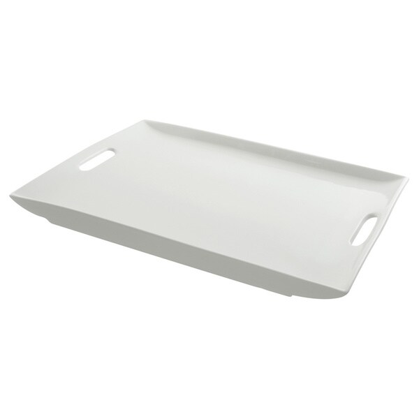 Whittier White Rectangle Platter