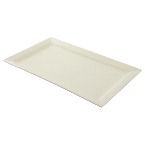 Whittier White Rectangular 17x11-inch Platter