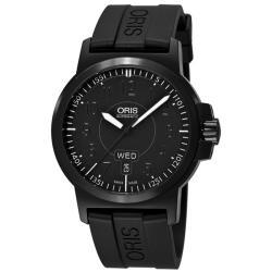 Oris Men's 'BC3 Advanced Day Date' Black DLC Automatic Watch