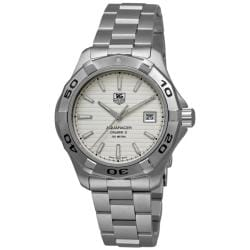 Tag Heuer Men's WAP2011.BA0830 'Aquaracer Calibre 5' Stainless Steel Automatic Watch