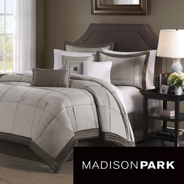 Madison Park Cascade 7-piece King/Cal-King Comforter Set