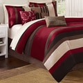 Madison Park Boulder Stripe 7-piece Comforter Set