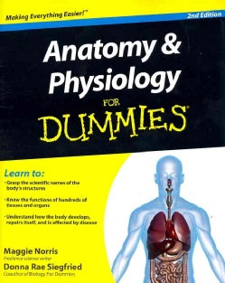 Anatomy & Physiology for Dummies (Paperback)