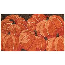 Pumpkins Hand Woven Coir Doormat 18' x 30'