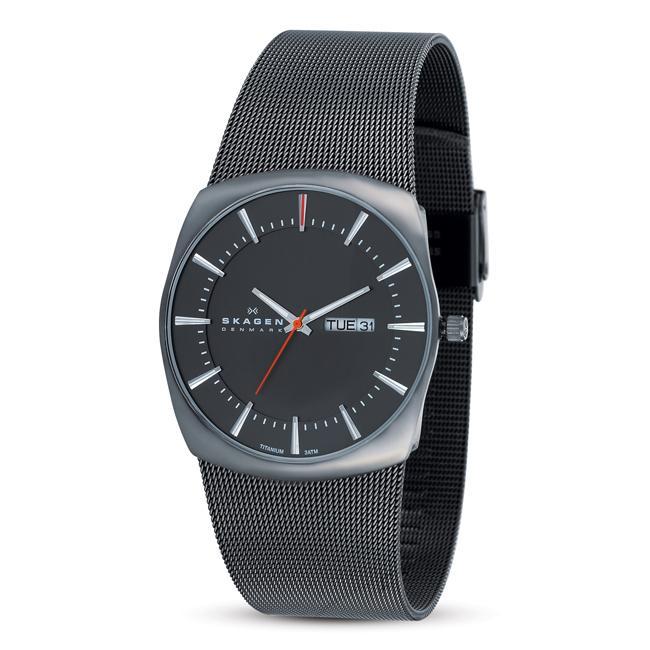 Skagen Men's Titanium Grey Watch