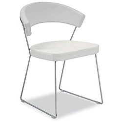 Modloft Delancy Leatherette Dining Chairs (Set of 2)