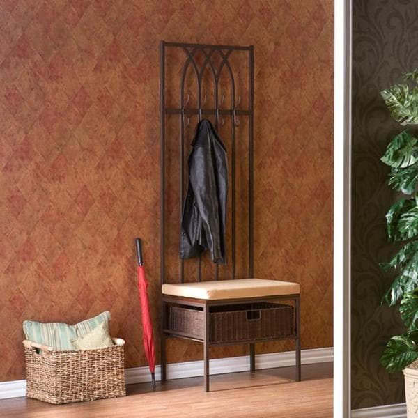 Upton Home Ovilla Hall Tree Entry Bench