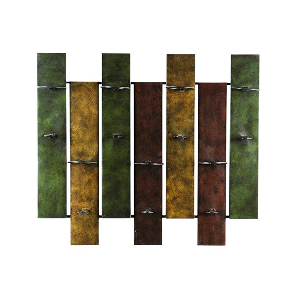 Upton Home Nora 7-bottle Wall-mount Wine Rack