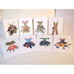 Kathie McCurdy Thumbelina's Closet Greeting Cards (Pack of 8)
