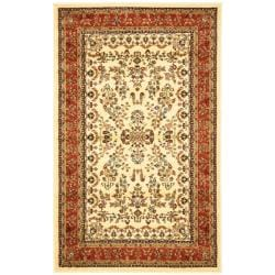 Lyndhurst Collection Ivory/ Rust Rug (3'3 x 5'3)