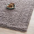 Safavieh Hand-woven Bliss Grey Shag Rug (3' x 5')