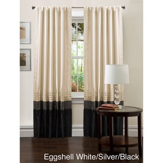 Lush Decor Mia 84-inch Curtain Panel Pair