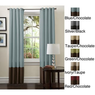 Lush Decor 84 inch Prima Curtain Panel Pair