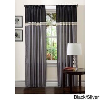 Lush Decor 84-inch Terra Curtain Panel Pair