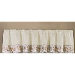 Lush Decor Bloom Valance
