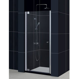 DreamLine Elegance 30.5-32.5x72-inch Frameless Pivot Shower Door