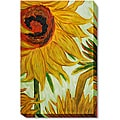 Van Gogh 'Sunflowers' Large Hand-Painted Framed Art Print