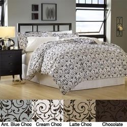 Seville 3-piece Queen-size Duvet Cover Set