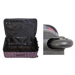 Rockland Designer Icon Expandable 4-piece Luggage Set