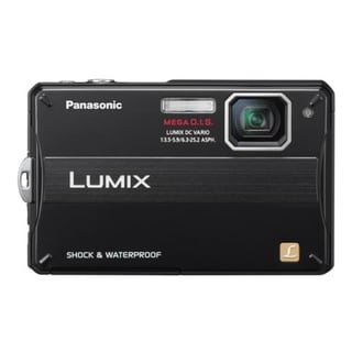Panasonic Lumix DMC-TS10 14.1 Megapixel Compact Camera - Black
