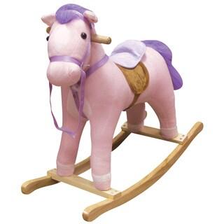 Pink Horse Rocker