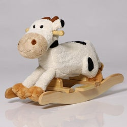 The Charm Company Cow Rocker