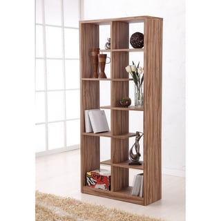 Furniture of America Malonie Display Shelf / Bookcase / Room Divider