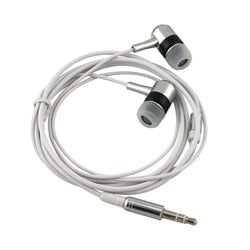 INSTEN and Universal In-ear 3.5mm Stereo Headset for Apple iPhone 4/ 4S/5/ 5S/ 6