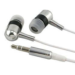 Black and White Universal In-ear 3.5mm Stereo Headset
