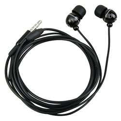 Black 3.5 mm Stereo Headset for Samsung T959 Vibrant Flex Galaxy