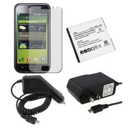 4-piece Battery/ Chargers Combo Kit for Samung Galaxy i9000