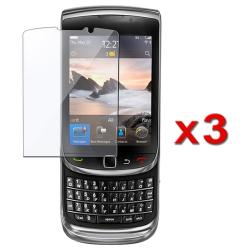 INSTEN Clear Screen Protector for Blackberry Torch 9800 (Pack of 3)