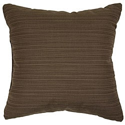 Walnut 20-inch Knife-edged Indoor/ Outdoor Pillows with Sunbrella Fabric (Set of 2)