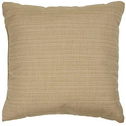 Sand 20-inch Knife-edged Outdoor Pillows with Sunbrella Fabric (Set of 2)