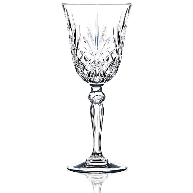 Melodia Collection Crystal Wine Glasses (Set of 6)