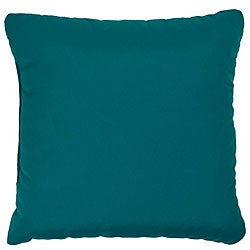 Teal 22-inch Knife-edged Indoor/ Outdoor Pillows with Sunbrella Fabric (Set of 2)