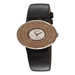 Azzaro Women's 'Sparkling' Rose PVD Silver Dial Watch