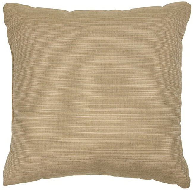 Sand 22-inch Knife-edged Outdoor Pillows with Sunbrella Fabric (Set of 2) at Sears.com