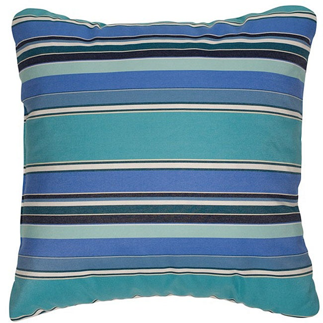 Dolce Oasis 22-inch Knife-edged Indoor/ Outdoor Pillows with Sunbrella Fabric (Set of 2)