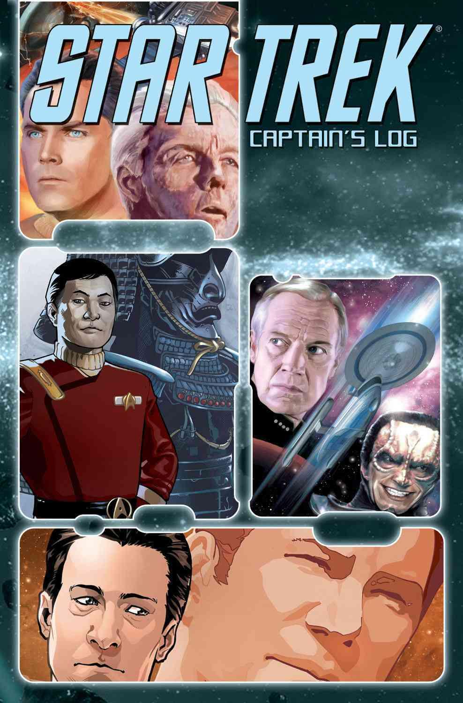 Star Trek: Captain's Log (Paperback)