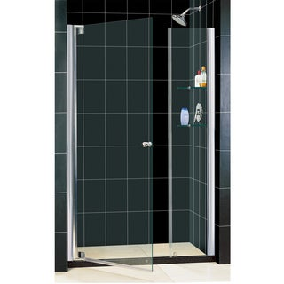 DreamLine Elegance 37.25-39.25x72-inch Frameless Pivot Shower Door