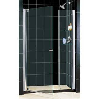 DreamLine Elegance 40.75-42.75x72-inch Frameless Pivot Shower Door