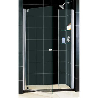 DreamLine Elegance 42.5-44.5x72-inch Frameless Pivot Shower Door