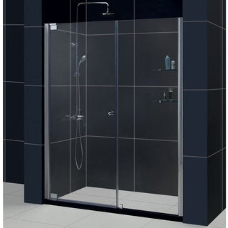 DreamLine Elegance 51-53x72-inch Frameless Pivot Shower Door