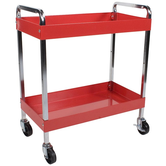 Arcan Red Power Coat Multi-purpose Service Cart