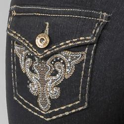 Anita Junior's Embellished Stretch Skinny Jeans
