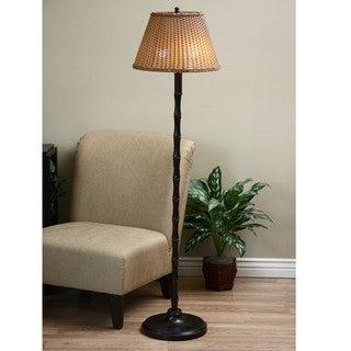 ClearLite Palm Beach Bronze Indoor/ Outdoor Opticolor Floor Lamp